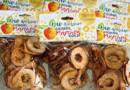 GRIMMS Märchen GOLD: Saison für Bio Streuobst-Apfel-Chips gestartet