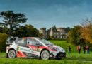 Toyota startet selbstbewusst in die Wälder von Wales