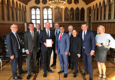 Vizebürgermeister von London zu Besuch in Frankfurt