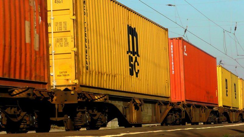 Mit 401 Millionen Tonnen transportierten Gütern neuer Höchstwert