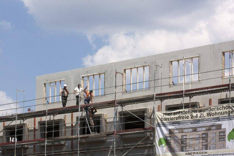 Sozialgeförderter Wohnungsbau nimmt deutlich zu