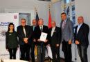 Übergabe des Förderbescheides für den Freiwilligen Polizeidienst der Städte Bad Wildungen, Fritzlar und Gudensberg