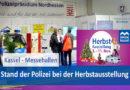 Nachwuchsgewinnung der Polizei auf Kasseler Herbstmesse