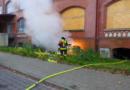 Abschlussmeldung- Kellerbrand in der Kulturfabrik Salzmann ist gelöscht.