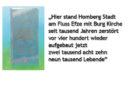"""Tolles Projekt:  """"Ein Back-Up in Granit – Der Stein von Homberg"""" – Besichtigung und Vergrabung"""
