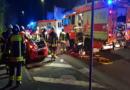 Verkehrsunfall mit 5 Verletzten gestern Abend