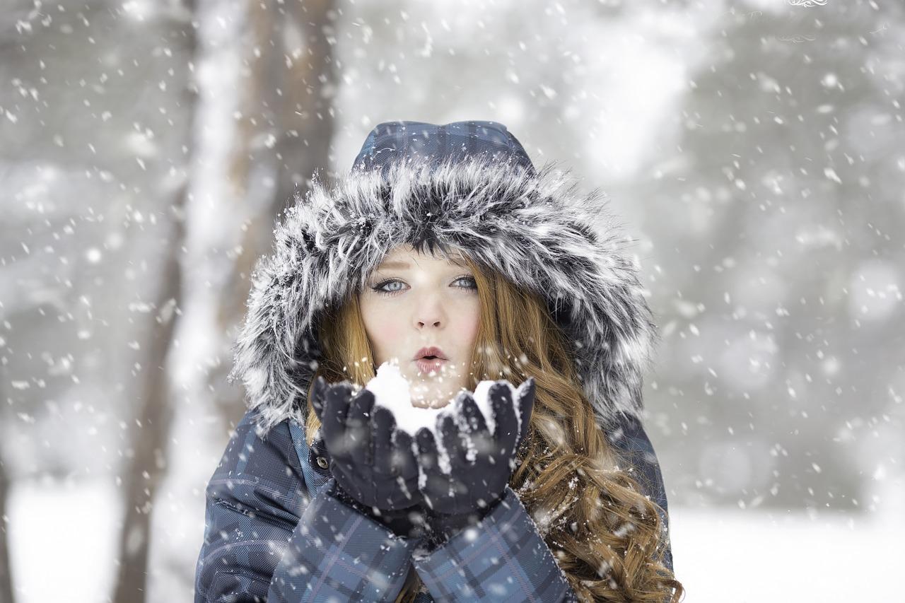 Kälte hilft Haut und Haaren