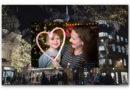 Die Londoner Weihnachtsbeleuchtung pulsiert im Rhythmus eines Kinderherzens für die Charity Tiny Tickers