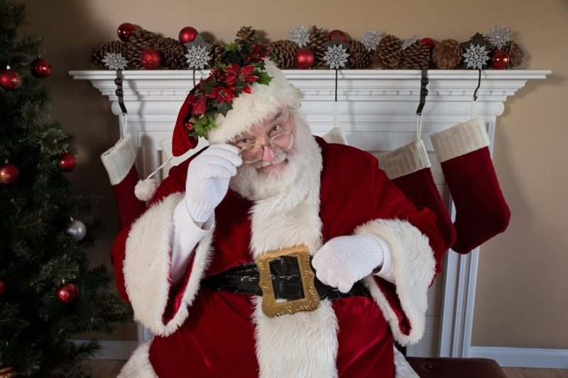 Das mochte der Nikolaus nicht und beendete Schlägerei in Einkaufsmarkt