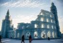 Ein Schloss aus Eis: Unglaubliche Architektur aus Wasser