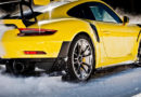 Porsche auf Eis