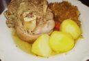 Jeder kann kochen, er braucht nur Mut: Eisbein mit Sauerkraut und Salzkartoffeln