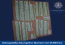 Grebenstein: Kriminalpolizei durchsucht Liegenschaft und findet 54.000 Euro Falschgeld – Tatverdächtiger in Haft