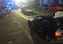 Verfolgungsfahrt im Bereich MR: Fahrer und vier Polizeibeamte verletzt/ 3 kaputte Autos