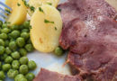 Jeder kann Kochen, er braucht nur Mut: Rinderzunge mit selbstgemachter Jus, Kartoffeln und Kullererbsen