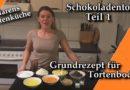 Saftige Schokoladentorte Teil 1 / Grundrezept für Tortenboden / Backen in MarensGartenKüche