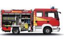 Feierliche Fahrzeugübergabe eines TSF-W bei der Freiwilligen Feuerwehr in Rodemann