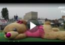 Weltrekord: Mexikaner stopfen Riesen-Teddybär aus