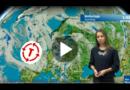 Gewitter, Hagel, Starkregen, Sturmböen: Tief Theodor bringt gefährliche Unwetter