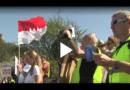 Demonstration gegen die Südlink Trasse