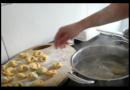 Bärlauch Rezept -gefüllte Tortellini- / Grundrezept für Tortellini / kochen in Marensgartenküche