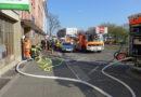 Verkehrsbehinderungen auf Holländischer Straße nach Kellerbrand