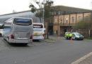 Gemeinsame Kontrollen von Fernbussen am Wilhelmshöher Bahnhof: Nur kleinere Verstöße bei 14 überprüften Bussen