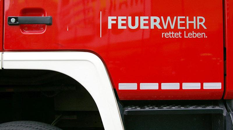 Allendorf-Eder (Landkreis Waldeck-Frankenberg): Brand einer Fertigungshalle