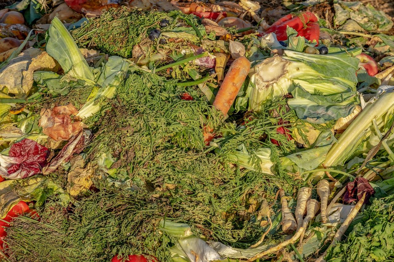 122 Tage Essen für den Müll produziert
