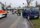 Glück im Unglück – Fahrzeug überschlagen -65000 Schaden – Gottlob nur leichtverletzt