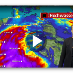 Hochwasserlage sptitz sich zu – wo es am Dienstag gefährlich wird