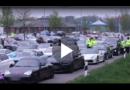 Von Oslo nach Prag: Mehr als 100 Sportwagen rasen über A20