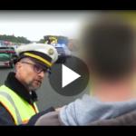 Polizist: Ausraster wegen Gaffern