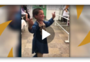 Freudentanz: Afghanischer Junge feiert seine Beinprothese