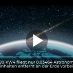 """""""Potentiell gefährlicher"""" Asteroid steuert auf Erde zu"""