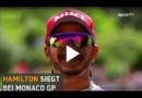 Monaco GP: Lewis Hamilton siegt – Vettel profitiert von Verstappen-Strafe