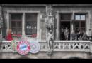 Der FC Bayern feiert ausgelassen das Double