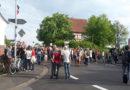 Linker Protest in Marburg treibt es auf die Spitze