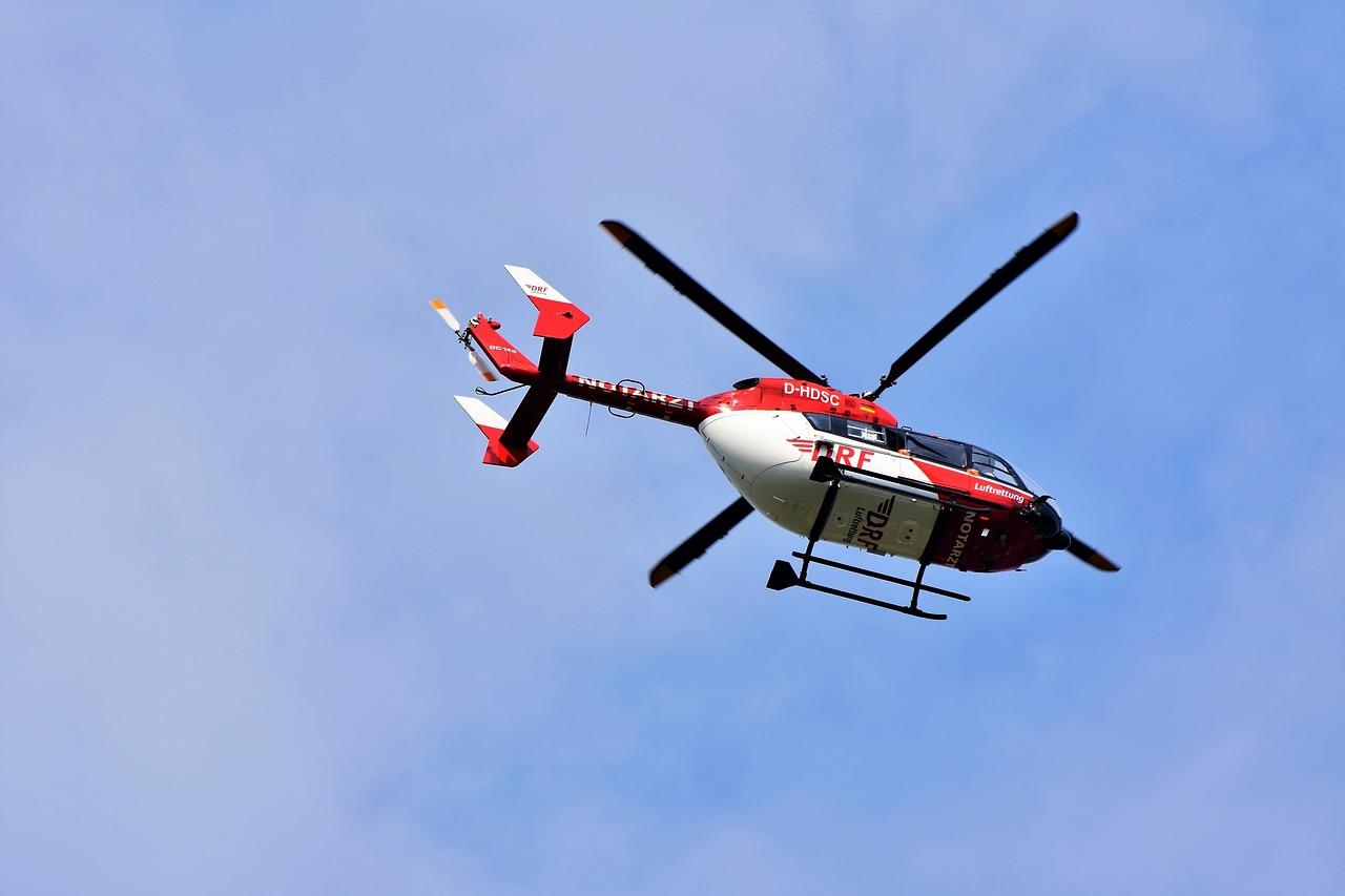 Hubschrauber-Rundflüge beim Altstadtfest