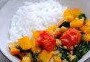 Jeder kann kochen, er braucht nur Mut: Kürbis Curry