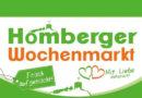 Homberger Wochenmarkt von Mai bis Oktober mit attraktiver Live Musik