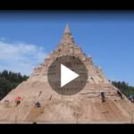 Spannung auf Rügen: Sandburg schafft neuen Weltrekord
