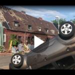 taff Tag: Mann klettert ungesichert ein Hochhaus hoch