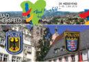 """Gemeinsame Pressemitteilung der Stadt Bad Hersfeld, der Bundespolizei Kassel sowie der Polizei Osthessen"""" 12. Juni 2019 Halbzeit auf dem Hessentag"""