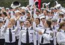 Vereidigung von rund 890 Kommissaranwärterinnen und -anwärtern