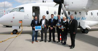 Erstflug Sylt – Rhein-Neckar-Air startet ab Kassel  – Erstmals geht's es von Kassel nach Sylt