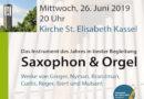 Konzert für Sax und Orgel
