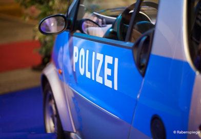 Polizei ist auch auf den Azubi- und Studientagen