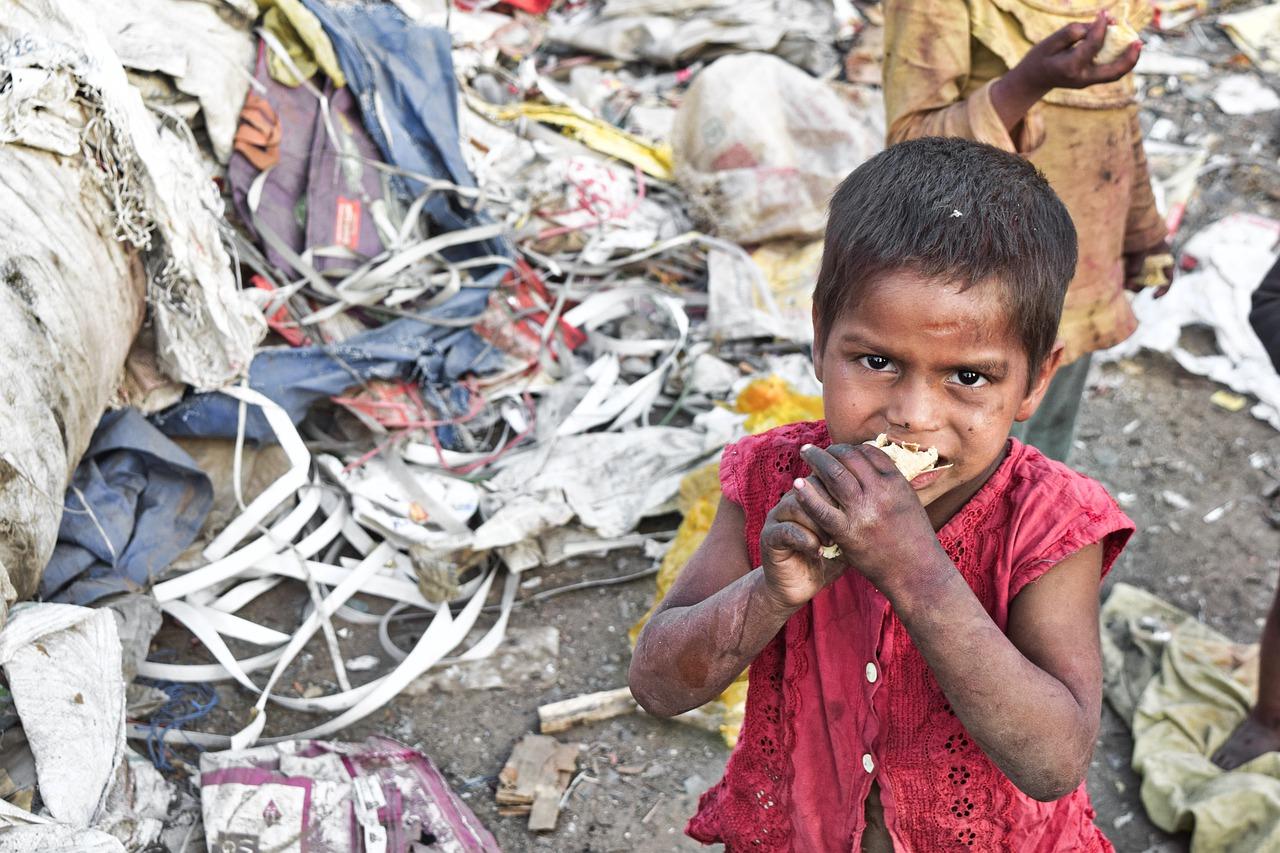 In Somalia sind Hunderttausende Kinder vom Hunger bedroht
