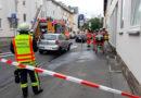 Feuerwehrmann verletzt sich leicht – aber Katze aus brennender Wohnung in Kassel gerettet